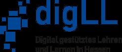 Logo von Digital gestütztes Lehren und Lernen in Hessen (DigLL)